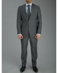 Baumler Mohair Look Textured Single Breasted Suit - Lyst