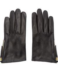Want Les Essentiels De La Vie - Black Madeleine Short Gloves - Lyst