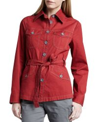 Christopher Blue - Taylor Tie-front Dobby Jacket - Lyst