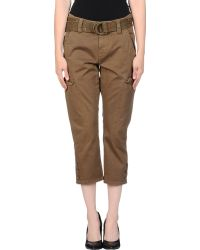 Tommy Hilfiger Denim 3/4-Length Trousers - Lyst