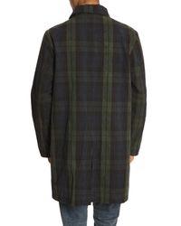 YMC Tartan Waterproof Jacket - Lyst