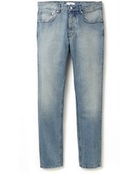 Ami Blue Fit Jeans - Lyst