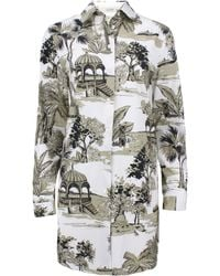Etro Cotton Life Of Pi Print Tunic - Lyst