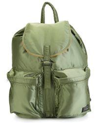 Porter - Pocket Detail Backpack - Lyst