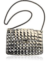 Anndra Neen - Alpaca and Brass Chain Large Quilted Bag - Lyst