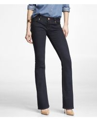 Express Low Rise Slim Flare Jean - Lyst