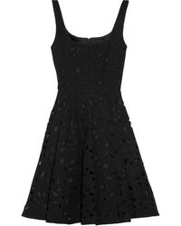 Jill Stuart Heather Cut Out Wool Blend Dress - Lyst