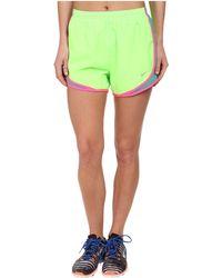 Nike Green Tempo Short - Lyst