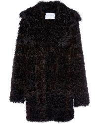 Sonia Rykiel Knitted Kalgan Coat - Lyst
