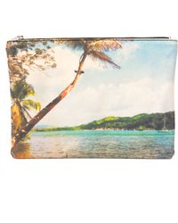 Zubi - Portobelo Tropical Canvas Pouch - Lyst