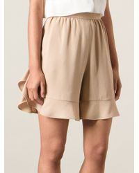 Chloé Loose Shorts - Lyst