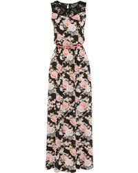 Oasis Trimmed Oriental Maxi - Lyst