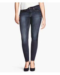 H&M Skinny Jeans - Lyst