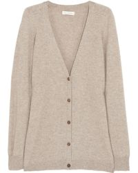 Chinti And Parker Elbow Patch Cashmere Cardigan - Lyst