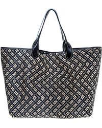 Via Buia | Woven Raffia Tote Bag | Lyst