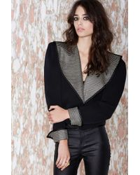 Nasty Gal Vintage Saint Laurent Smooth Sailing Jacket black - Lyst