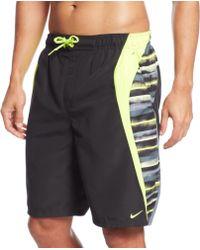 Nike Vapor Glow 9 Swim Shorts - Lyst