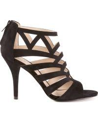 Pelle Moda Black Elham Sandals - Lyst