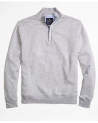 Brooks Brothers   French Terry Half-zip   Lyst