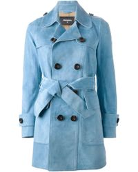 DSquared² Classic Trench Coat - Lyst