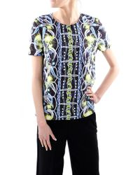 Peter Pilotto Top Blu - Lyst