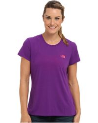The North Face Ss Reaxion Tee - Lyst