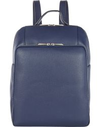 Barneys New York | Men's Saffiano Backpack | Lyst