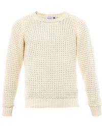 Wolsey - Waffleknit Cotton Sweater - Lyst