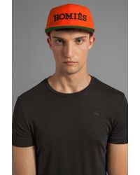 96260594bee Brian Lichtenberg - Homies Embroidered Caps - Lyst