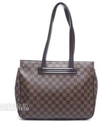 Louis Vuitton Preowned Damier Ebene Parioli Pm Bag - Lyst