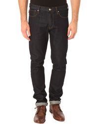 Paul Smith Washed Tapered Jeans - Lyst