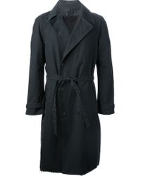 Label Under Construction - Belted Coat - Lyst