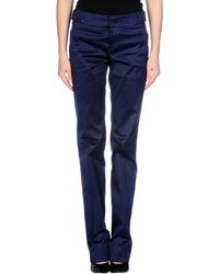 Gucci Casual Trouser blue - Lyst