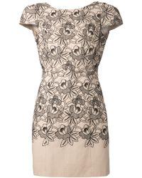 Tibi Eyelet Dress - Lyst