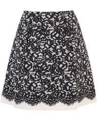 Coast Sansa Lace Print Skirt - Lyst