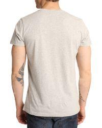 Diesel Lappa-1 Grey T-Shirt - Lyst