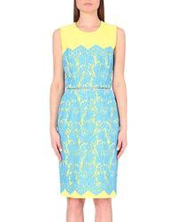 Preen Zou Dress Blue blue - Lyst