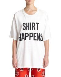 Moschino Graphic T-Shirt - Lyst