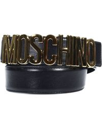 Moschino Belt Woman - Lyst