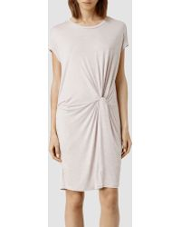 AllSaints Mast Mar Dress - Lyst