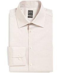 Ike Behar - Regular Fit Gingham Dress Shirt - Lyst