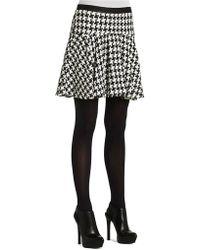 BCBGeneration Flared Pleated Skirt - Lyst
