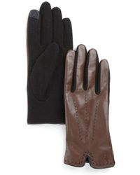 Pink Pony - Lauren Color Stitch Gloves - Lyst