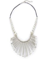 Raga - Beaded Statement Necklace - Lyst