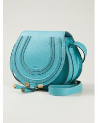 Chloé Marcie Leather Cross-Body Bag - Lyst