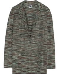M Missoni Cottonblend Jacket - Lyst