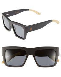 Woodzee - 'atlas' 52mm Polarized Sunglasses - Lyst