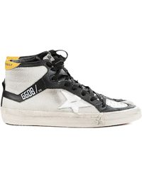 Golden Goose Deluxe Brand Womens Natural Corduroy High Top Sneaker - Lyst