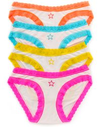 Cheek Frills Hero Star Knicker Set Multi - Lyst
