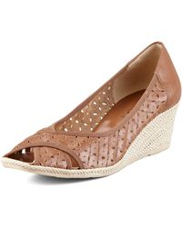 Sesto Meucci | Maddy Perforated Espadrille Wedge | Lyst